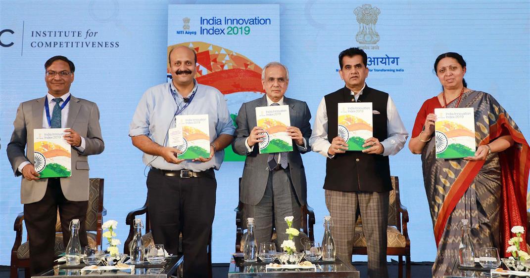 NITI Aayog launches India Innovation Index 2019, Karnataka tops the list