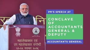 PM's speech at Conclave of Accountants General & Deputy Accountants General