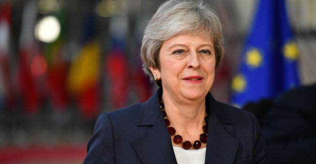 May says Brexit talks '95 percent' complete amid fears of political mutiny