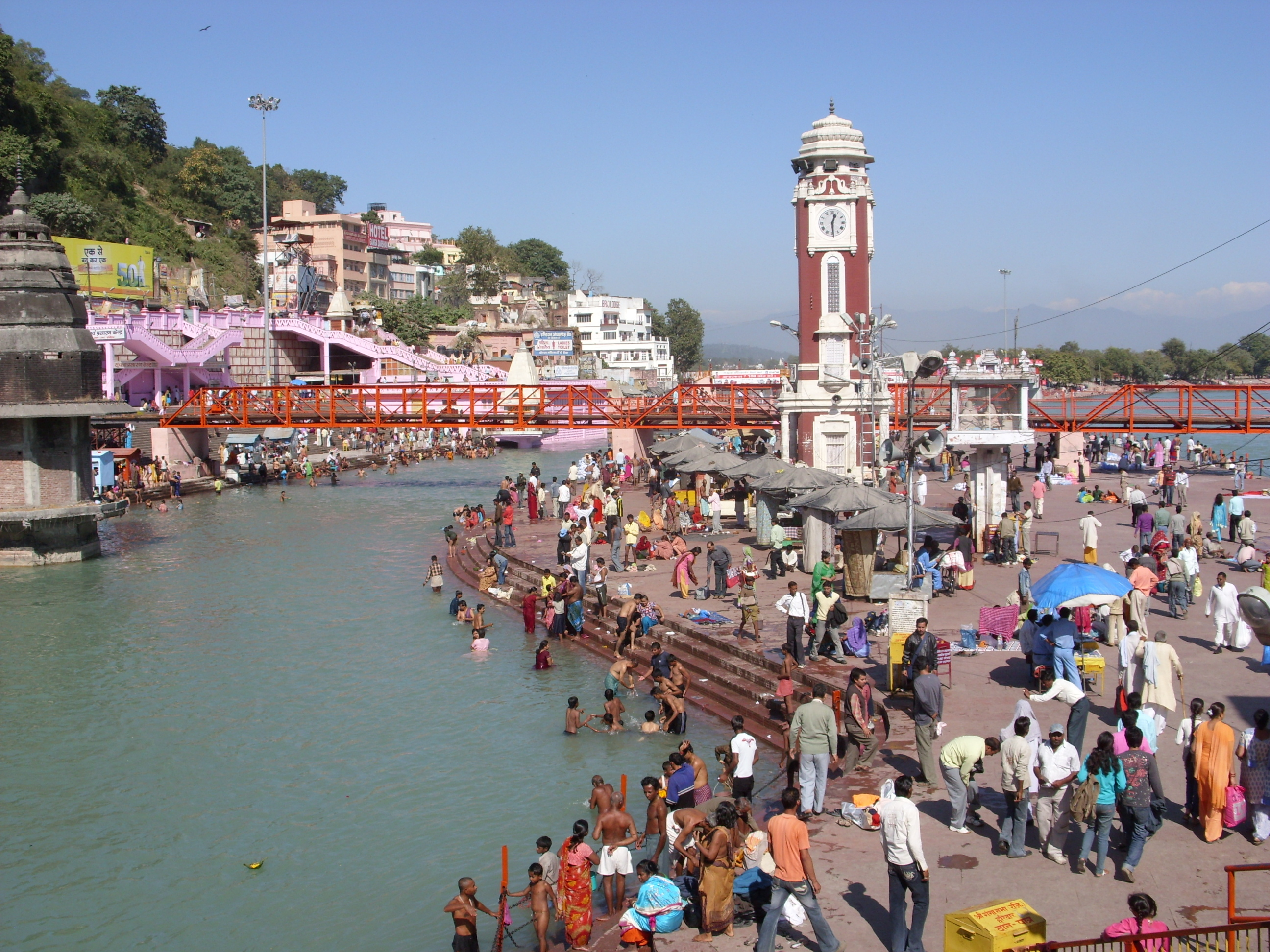 The Black and White pages of Haridwar  by Dr. Ramesh C Raina