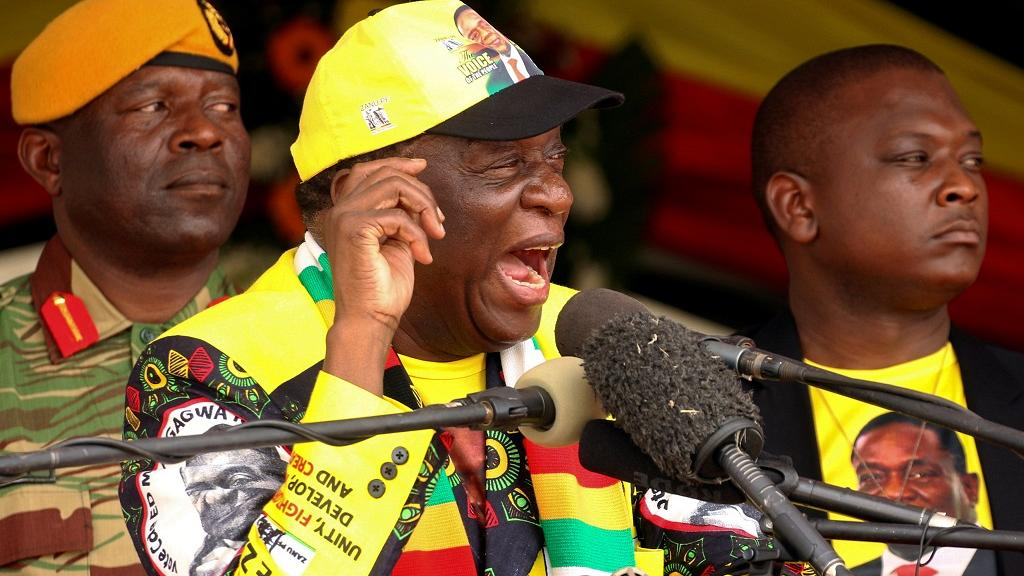 Zimbabwe ruling party picks Mnangagwa as candidate for 2023 polls