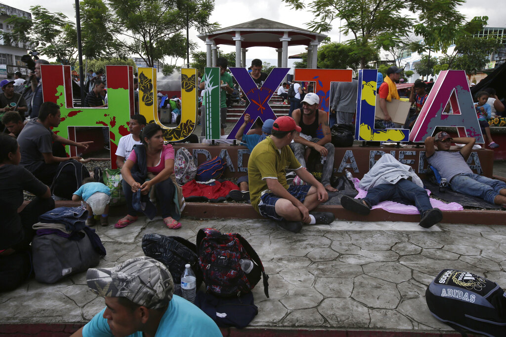 Mexico Works To Deter New Migrant Caravan Heading North To U.S. Border