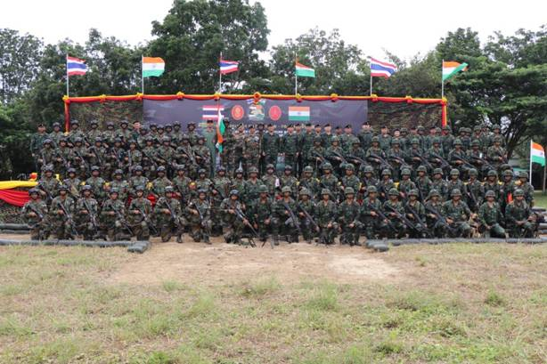 Closing Ceremony: Indo – Thailand Joint Exercise Maitree 2018