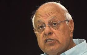 Dr Farooq detained under Public Safety Act, the Law passed by his Father in 1970