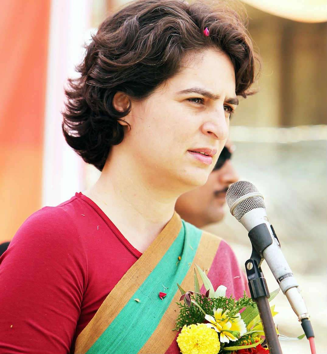 Priyanka Gandhi annoyed with Congress leader, canceled program to meet children at Ghat