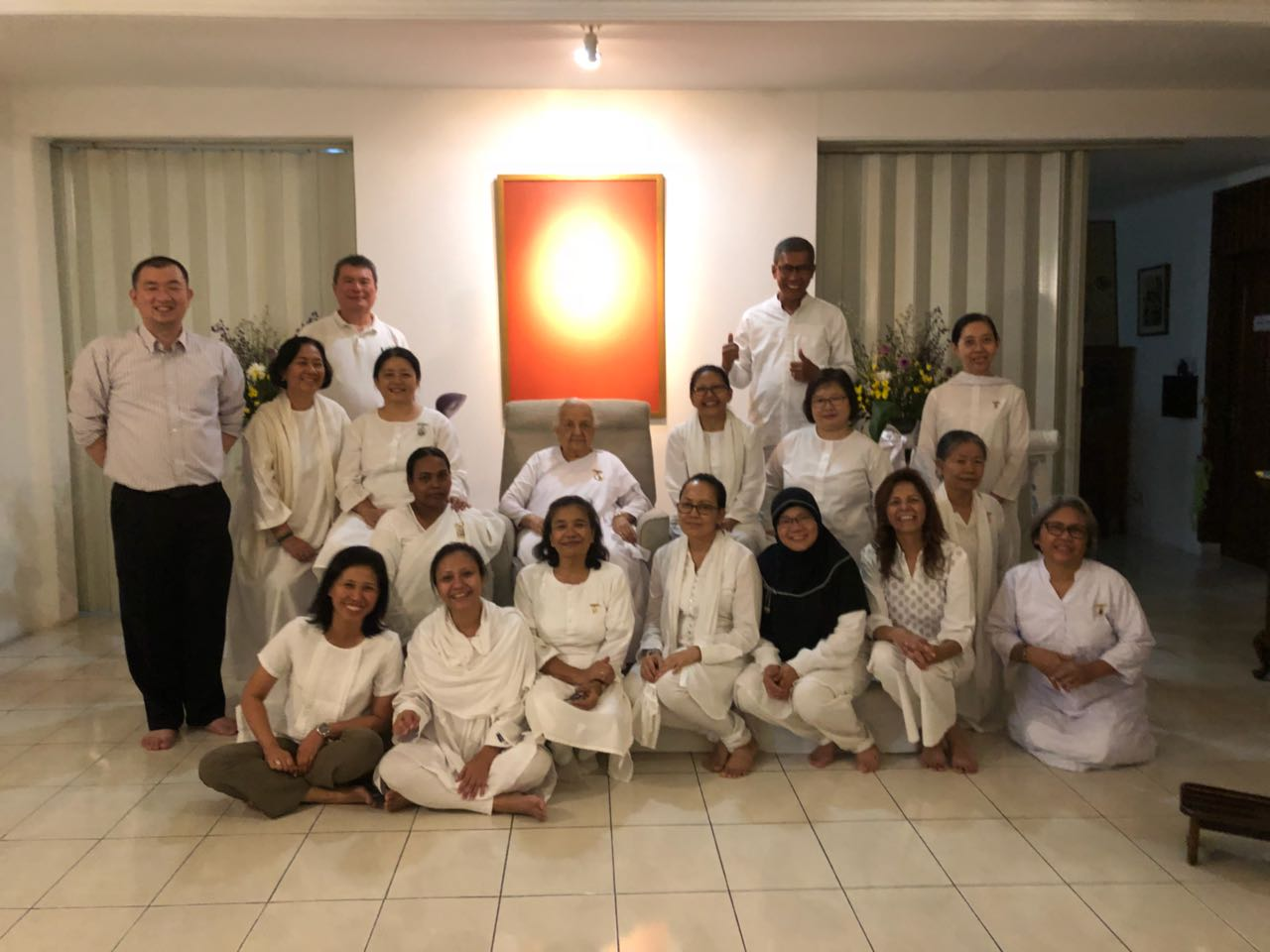 """Reclaiming Inner Strength"" event at Jakarta, Indonesia"