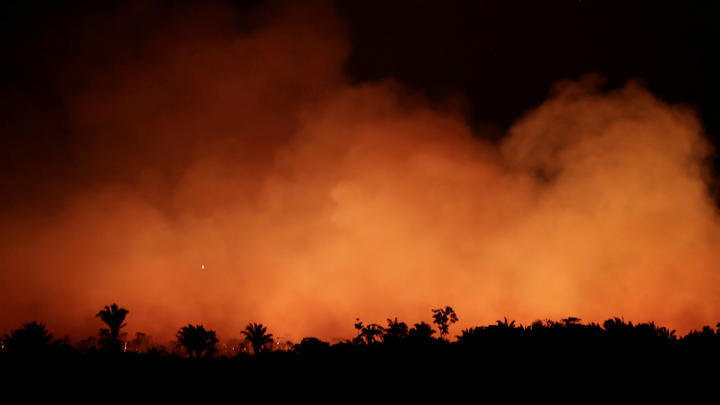 Global pressure over Amazon fires escalates, UN,France , and UK concerned