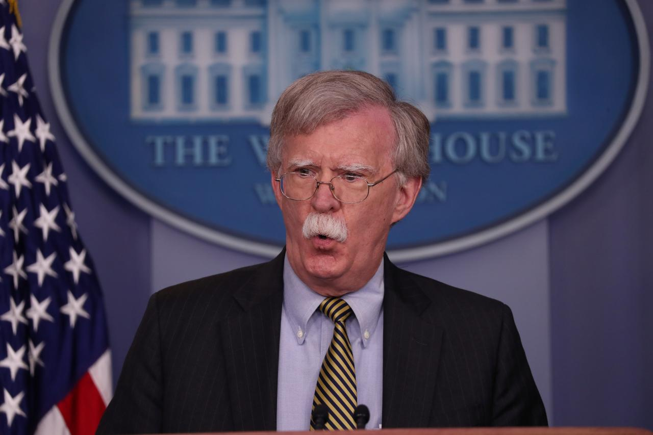 US security advisor Bolton in Moscow