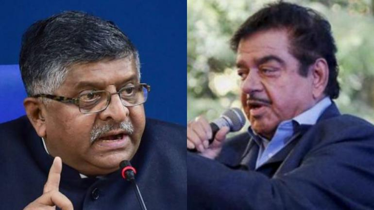 Ravi Shankar Prasad replaces Shatrughan Sinha on Patna Sahib
