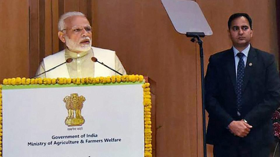 Text of PM's to address at National Conference on 'Agriculture 2022: Doubling Farmers' Income'