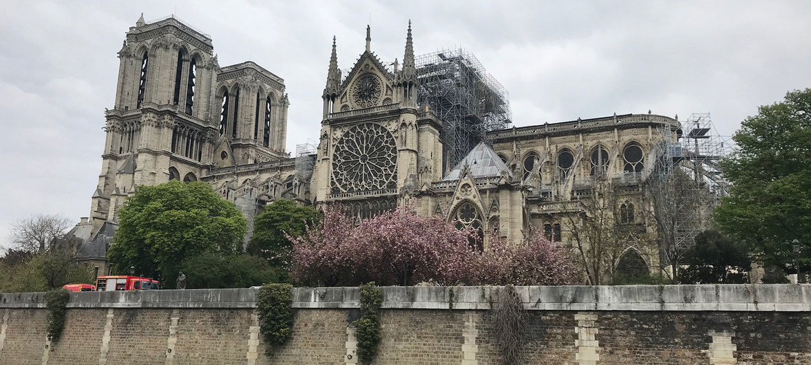 UNESCO experts ready to assist reconstruction of iconic Notre Dame, following devastating blaze