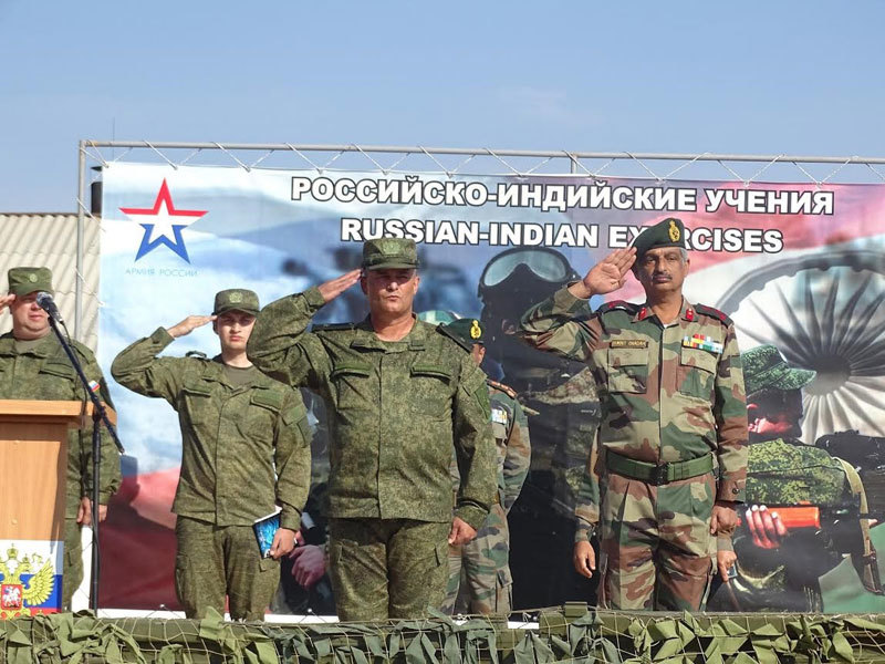 Curtain Raiser: INDO-Russian joint exercise INDRA 2018