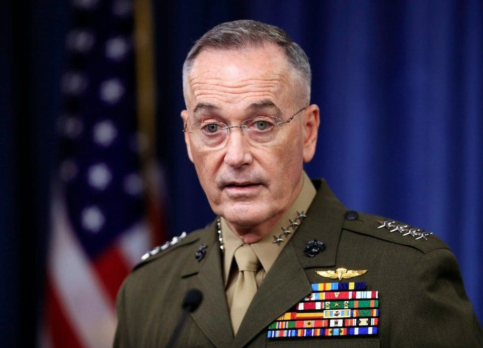 Gen. Dunford: Complacency In Fight Against Radical Islam Threatens U.S.
