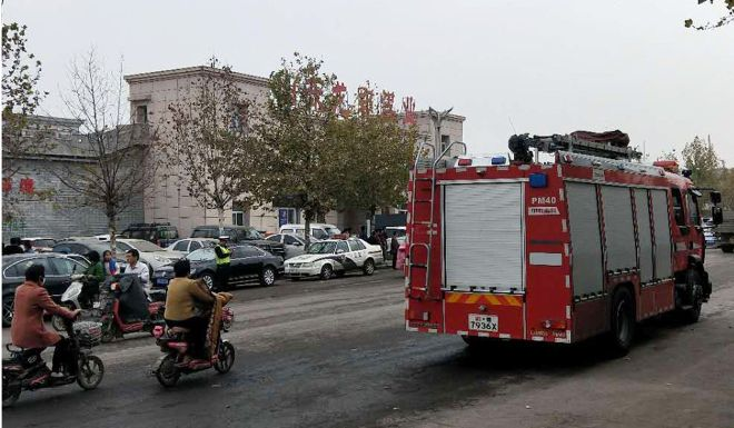 Cave-in at Chinese coal mine leaves 22 people trapped underground
