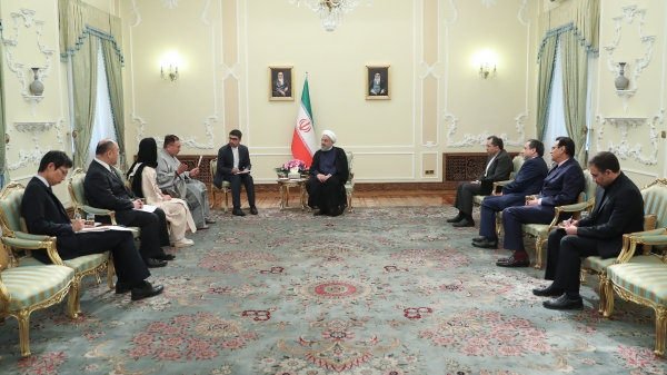President in a meeting with new Ambassador of Japan to Tehran