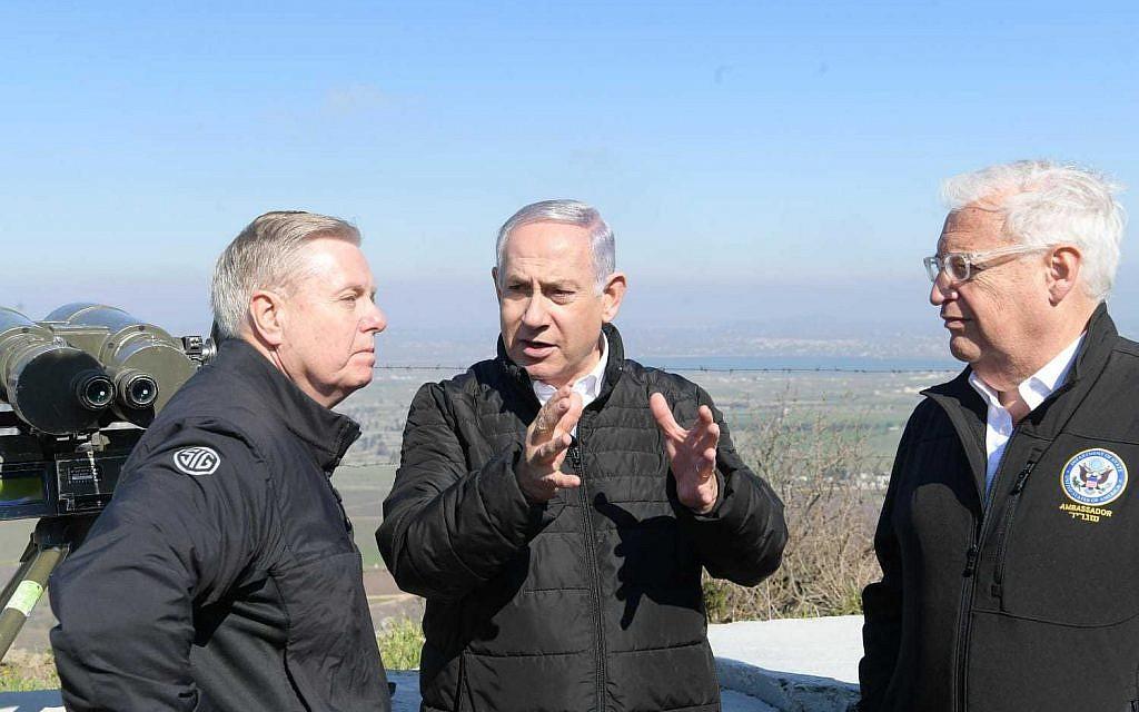 Russia opposes change to Golan status