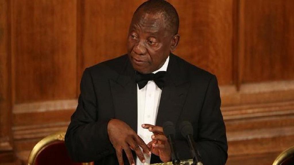 South Africa's Ramaphosa visits violence hit province after return from U.K.