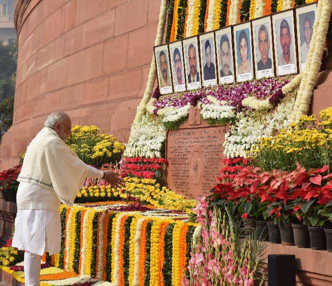 PM pays homage to martyrs of 2001 Parliament attack