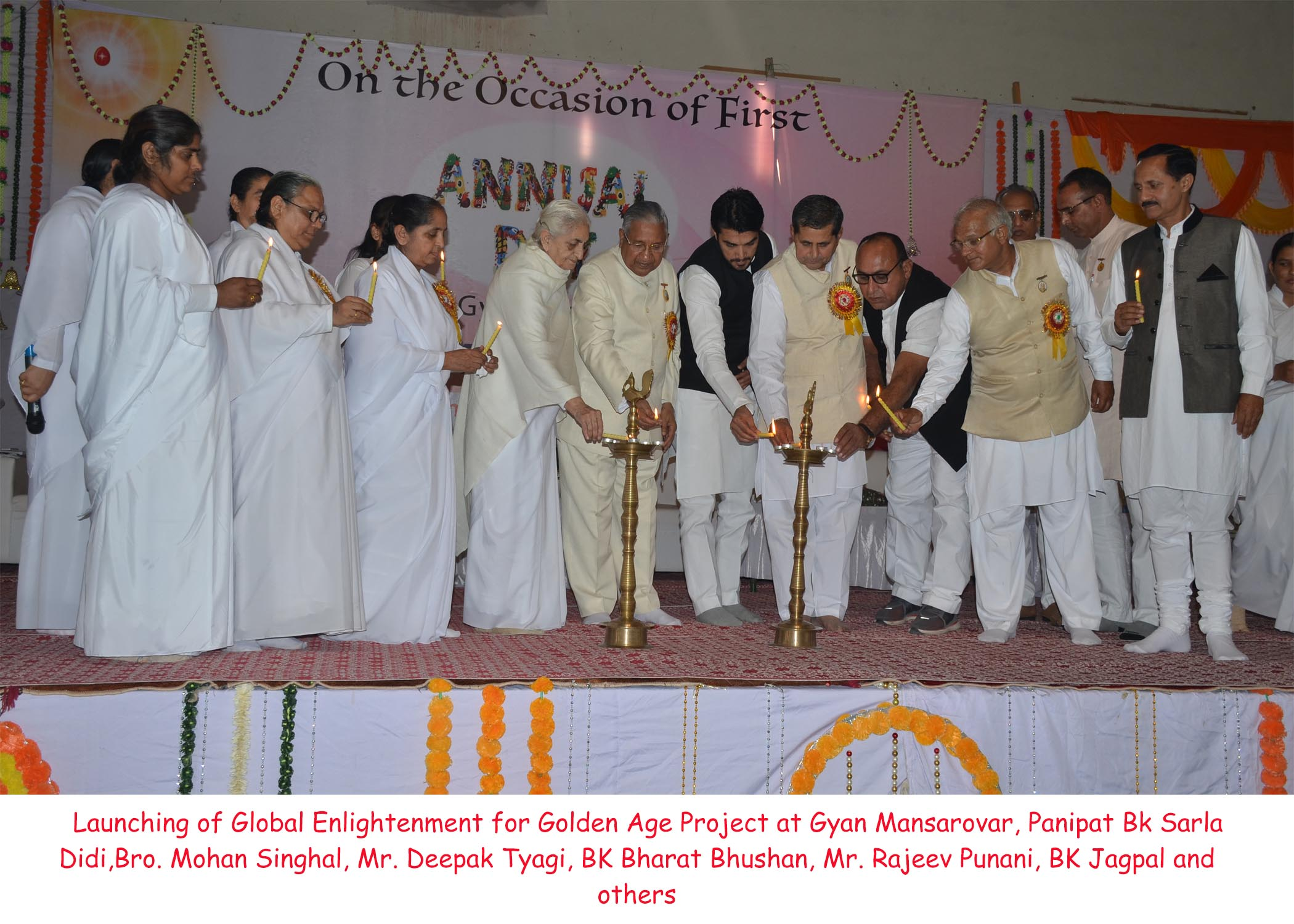 Launch of Global Enlightenment for Golden Age Project at Panipat