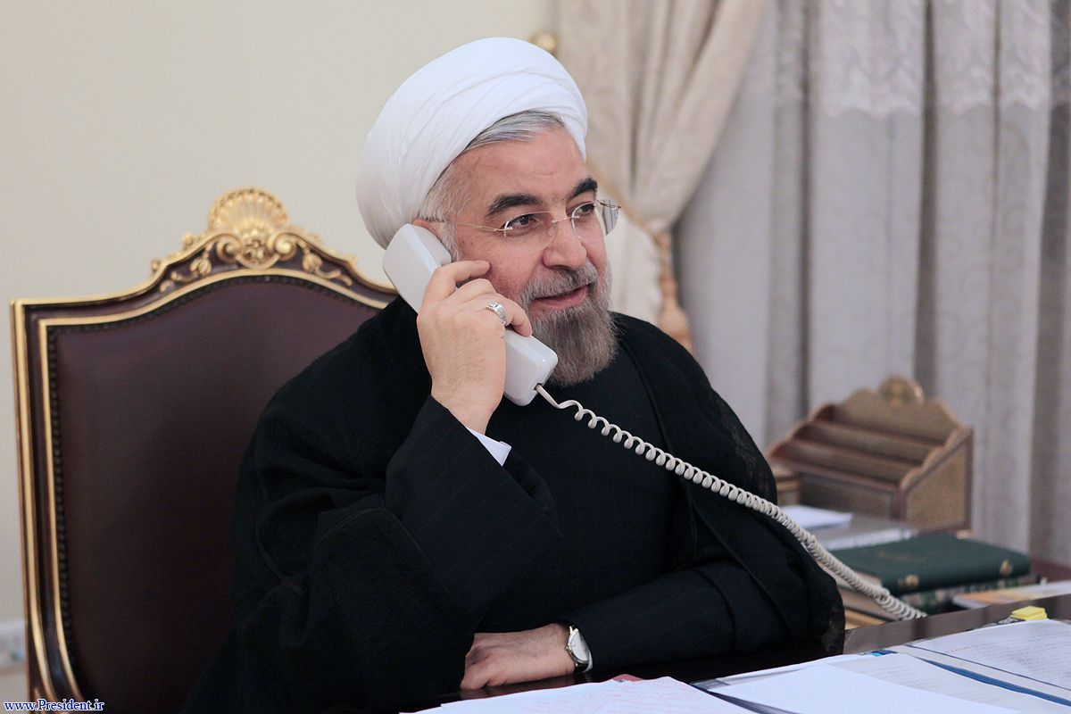 President in a phone call with his Turkish counterpart