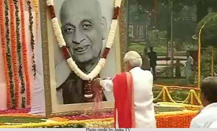 PM remembers Sardar Patel on his Punya Tithi