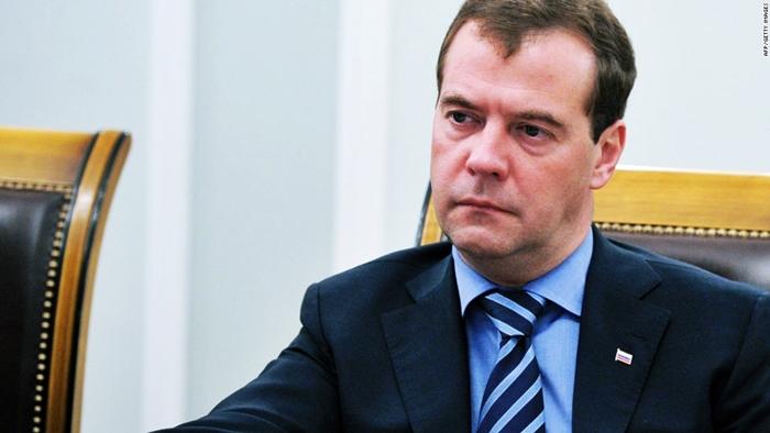 Dmitry Medvedev expresses his condolences to Miguel Mario Diaz-Canel Bermudez on the airplane crash in Havana Airport