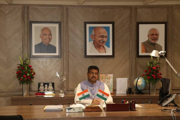 Human Capital, aspirational consumers and natural resources necessary for tech-enabled ecosystem, Dharmendra Pradhan