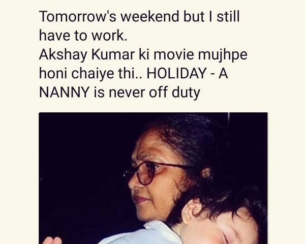 A nanny is never off duty!' These memes on Taimur's nanny are hilarious AF!