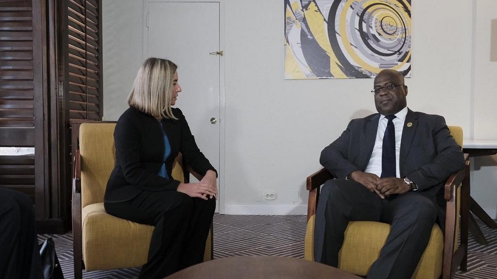 Did DRC president ask EU to lift sanctions on Kabila appointees?