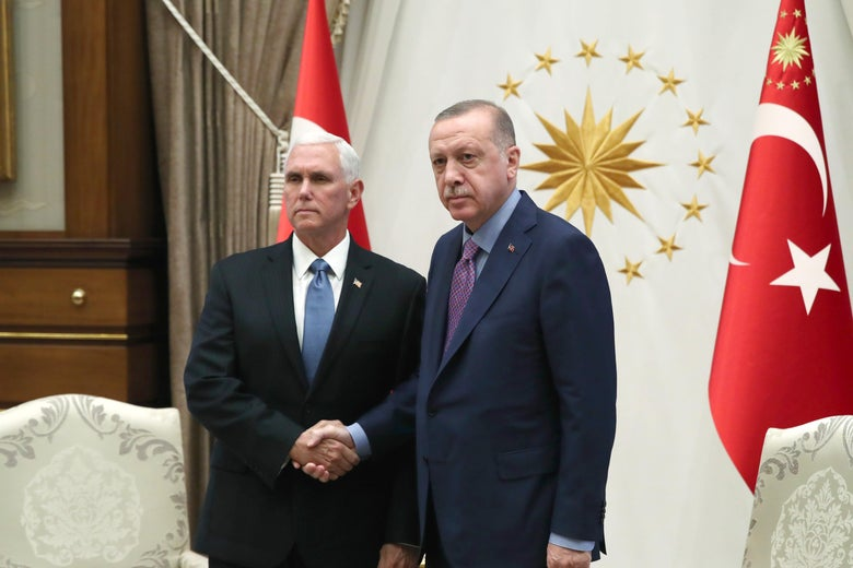 The United States and Turkey Agree to Ceasefire in Northeast Syria