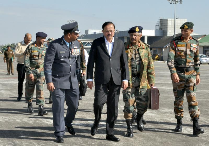 MoS Defence Visits Air Force Station Mohanbari Assam