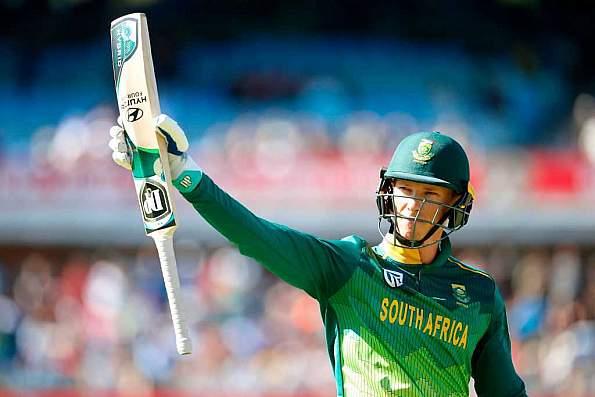 Amla, Van der Dussen propel South Africa to 266