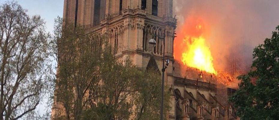Macron: 'Notre Dame will be rebuilt in five years, more beautiful than before'