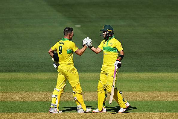 Marsh, Maxwell help Australia set 299-run challenge