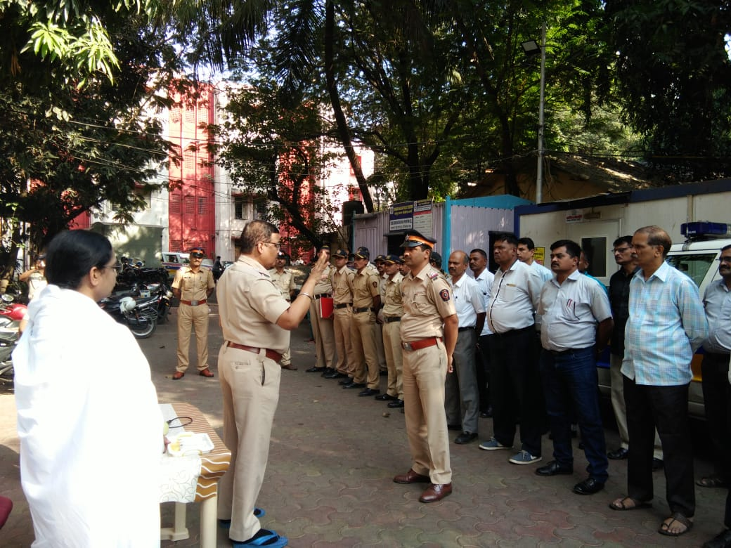 Brahma Kumaris Serve the Police Officials on World Day of Remembrance