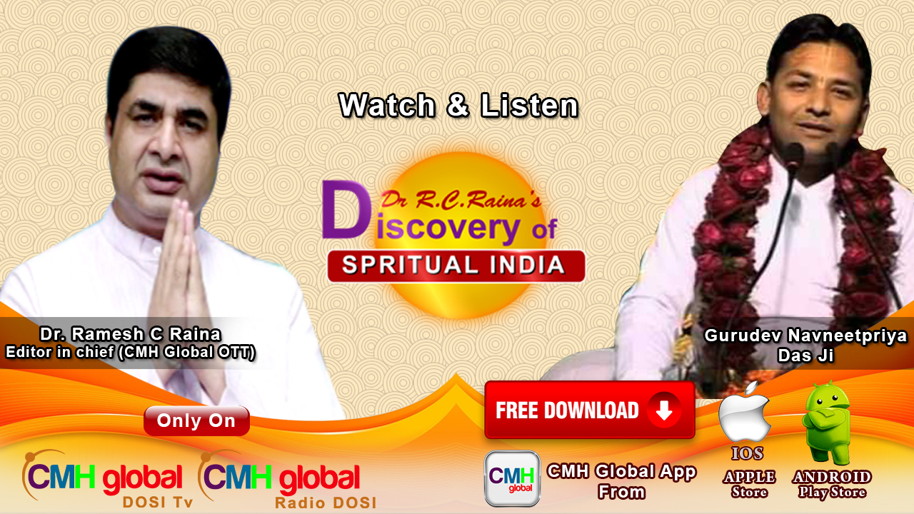 Discovery of Spiritual India  with Gurudev Navneet Priya Das ji Ep-01