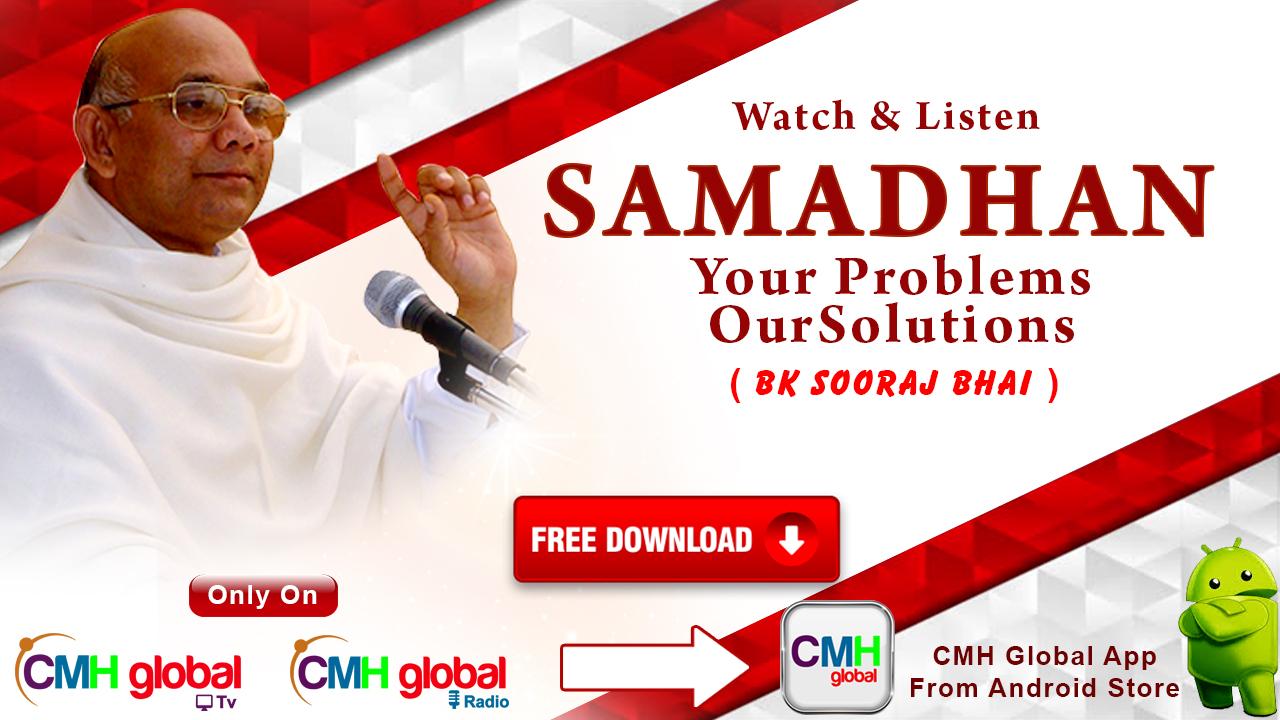 Samadhan  Ep -01 with BK Sooraj Bhai