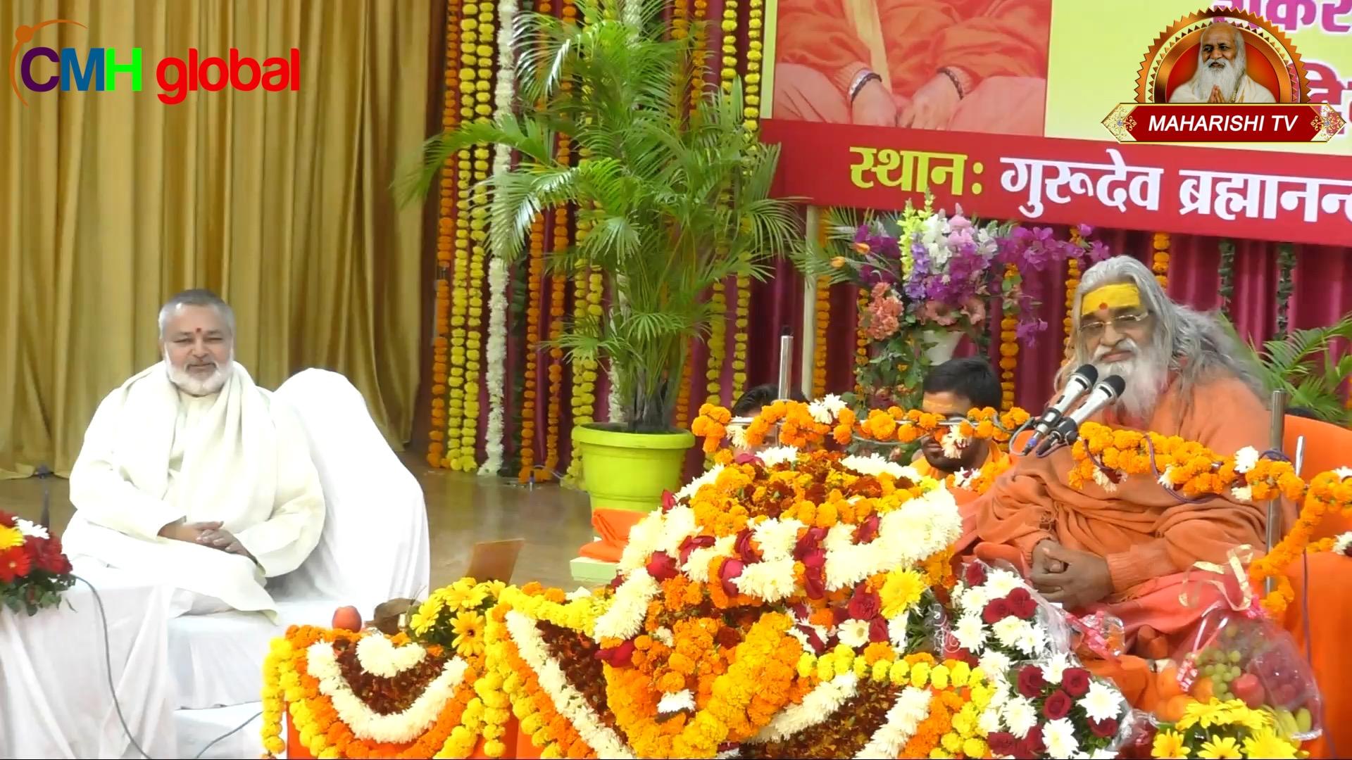 Ashirwad and Satsang Sabha Ep-01 by  Jyotish Peethadeshwar Swami Vasudevanand Saraswati Ji