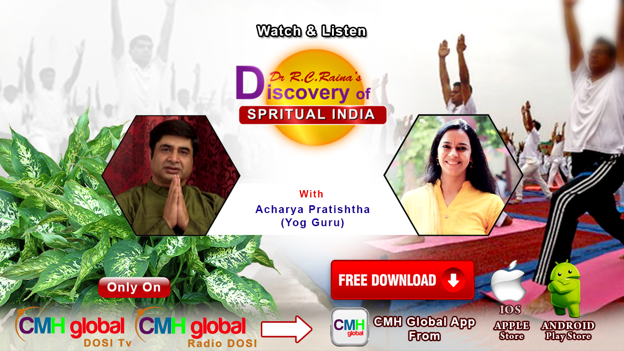 Discovery of Spiritual India  with Aacharya Pratishtha Ji Ep - 01