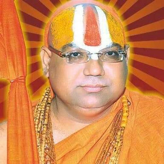 Tilak Abhishek of Mahant Arun Das ji at Haridwar