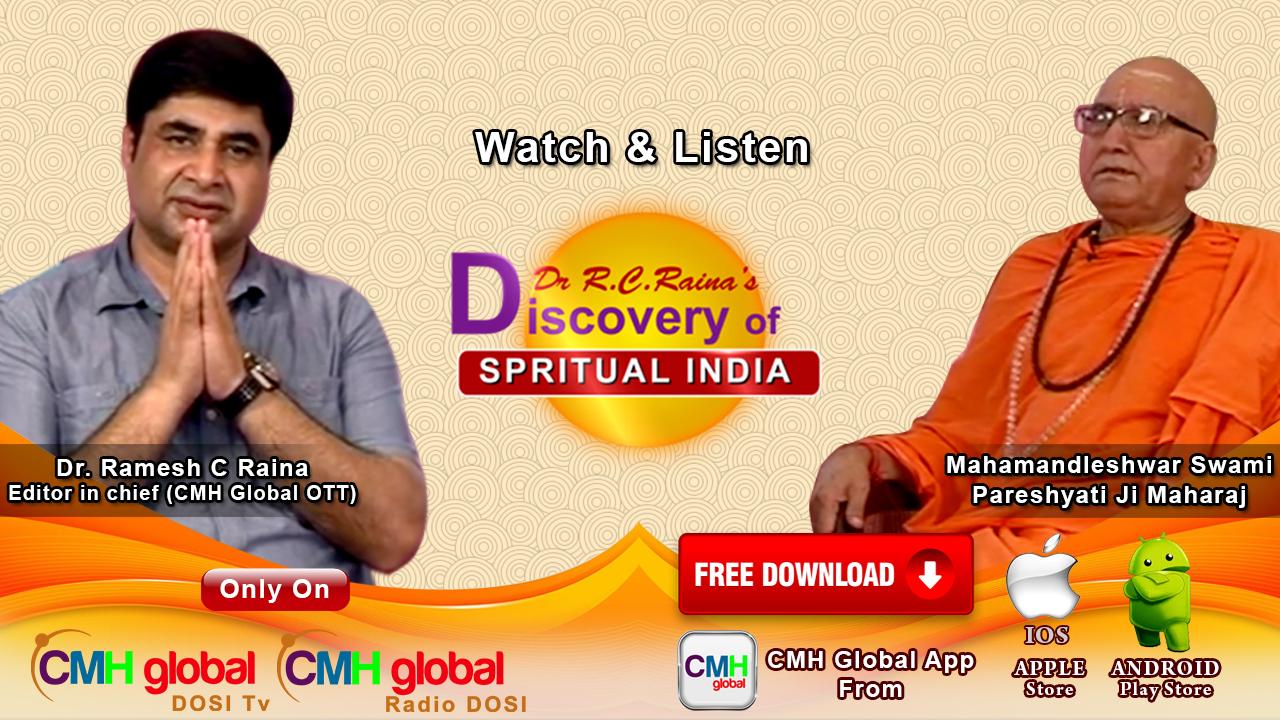 Discovery of Spiritual India  with Mahamandleshwar Paresh Yati Ji Maharaj  Ep-01