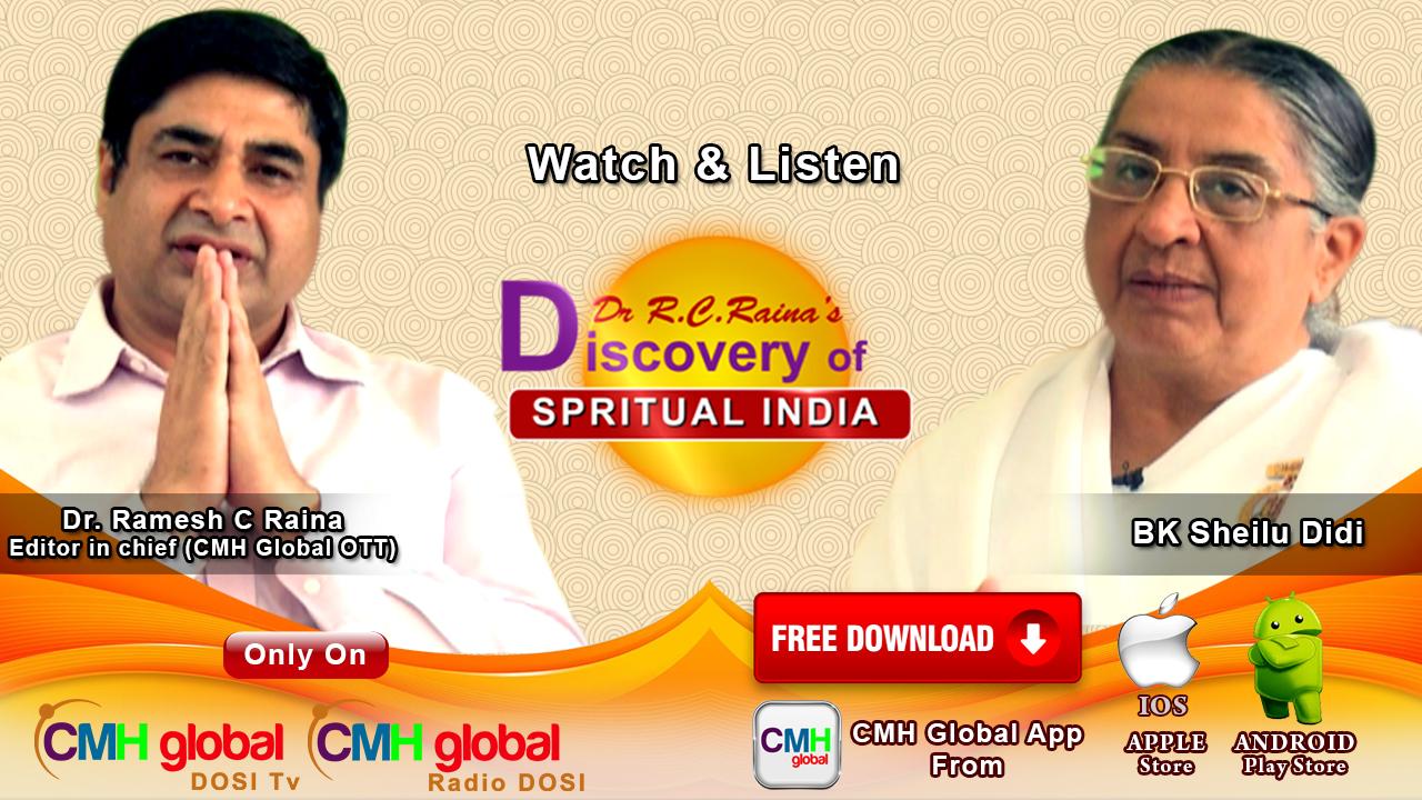 Discovery of Spiritual India  with BK Shilu Ji  Ep-03